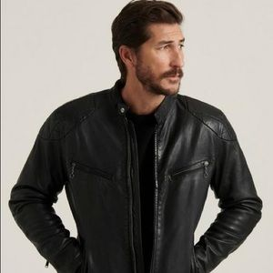 Lucky Brand Jeans Vincent Leather Jacket